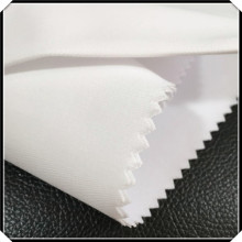Seragam Bleach White Twill Cloth Fabric Weave