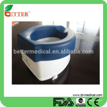 raise toilet seat with smooth PE material