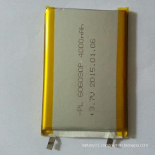606090 3.7V 4000mAh Rechargeable Lipol Battery