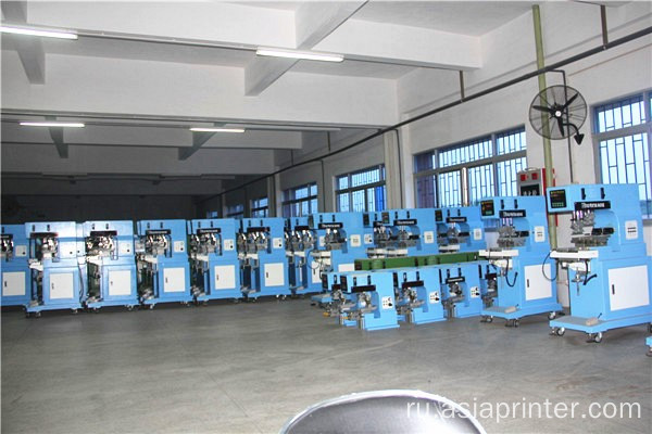 2- Color Shutte Sealed Cup Pad Printing Machine
