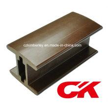 De alta calidad de plástico de madera WPC Guardrail apoyabrazos