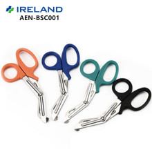DW-BSC001 FDA aprueba las tijeras médicas del vendaje de la manija de los PP para las enfermeras
