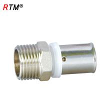 J17 4 13 1 encaixe de pressão para tubos multicamadas conexões de tubos de conexão rápida