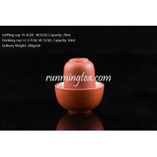 Chinesische Zisha Clay Rote Farbe Trinken * Sniffing Cups, 50ml & 20ml