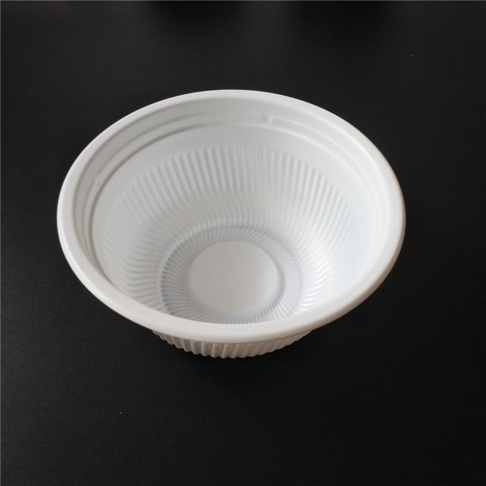 plastic food bowl