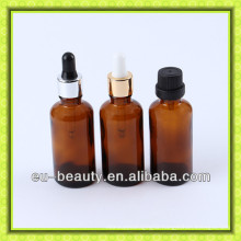 30ml essential oil amber glass bottle