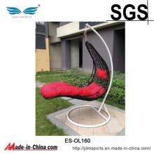 Pátio do Rattan do PE da alta qualidade que pendura a cadeira exterior do ovo (ES-OL160)
