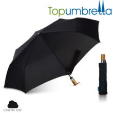 Nuevo diseño de manijas plegables de lujo auto mano paraguas Nuevo diseño de manijas auto plegables de lujo auto sombrillas