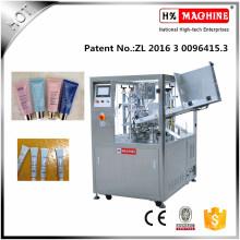 Máquina de llenado y sellado de tubos de crema para la noche que blanquea la piel