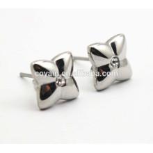 Модные ювелирные изделия с кристаллами cz милые серебряные серьги звезды
