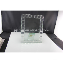 Durable using low price crystal glass picture photo frame
