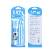 Conjunto de escovas de dentes para cães, cuidados dentários para animais de estimação