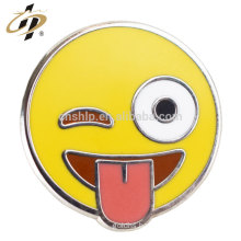 High quality cheap wholesale custom painted button badges