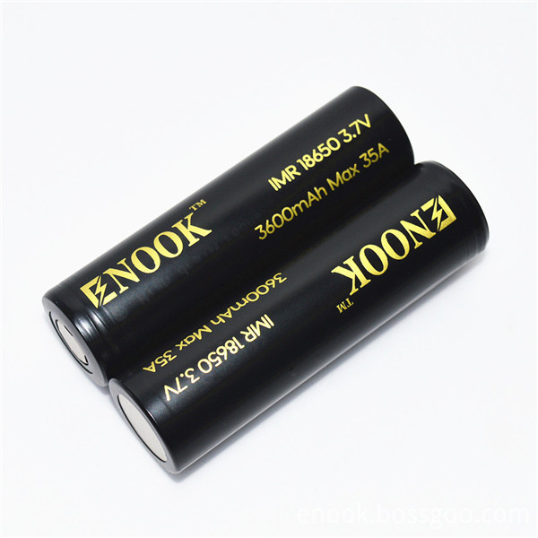 18650 Enook 3600mAh Torch Light Rechargeable Battery