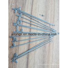 Agujas de 16 agujas para la máquina de hacer punto plana de la mano