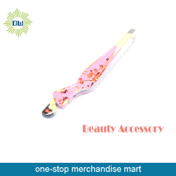 Beautiful Lady Stainless Steel Eyebrow Tweezers Set