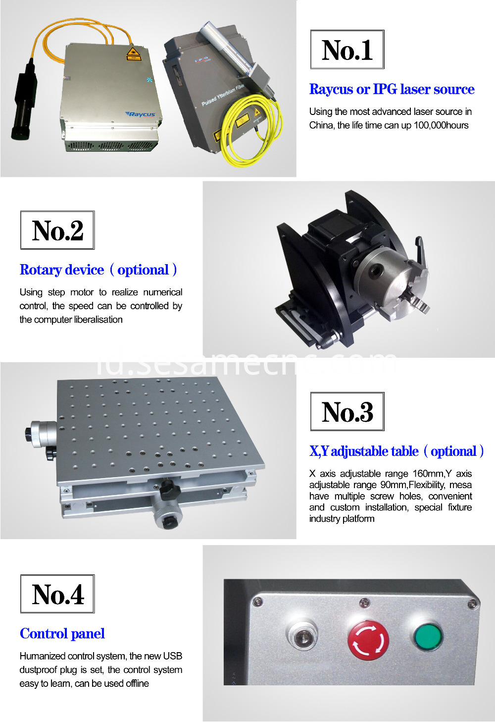 laser marking machine 30W