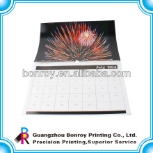Custom traditional chinese fook wall calendar wholesale calendar printing