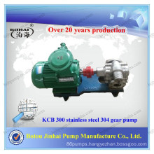 Stainless steel 304 KCB 300 gear pump commercial hydraulic gear pump in pumps