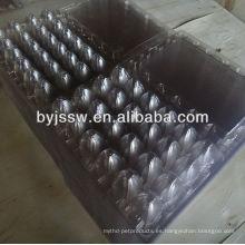 Bandeja de huevos de codorniz de plástico de 24 células