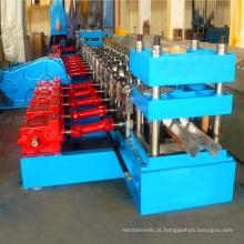 Equipamentos de fabricação de placa de alta segurança ferroviário guardrail / que faz a máquina / rolo dá forma à máquina