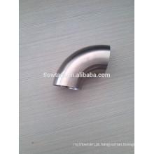 Aço inoxidável dobra sanitária