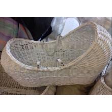 (BC-BA1005) Alta qualidade Handmade Willow sono e transportar cesta do bebê