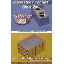 Ducha puerta magnética tira/neodimio imán