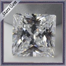 Pierres précieuses en zircone cubique synthétique Princess Cut (STG-030)
