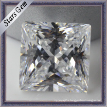 Princess Cut Synthetic Cubic Zirconia Gemstone (STG-030)