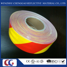 Pet Self Adhesive Stripe Reflective Material Hazard Warning Tape