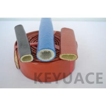Guaina in fibra di vetro con protezione antincendio rivestita in silicone