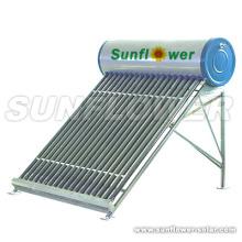 Compagnie d'eau chaude solaire sans pression de l'Allemagne