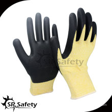 13 gauge Cut level 5 coated water-based PU gloves