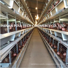 Layer Farm Equipment Cage System (H frame)