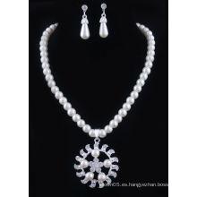 Joyería de la perla de la promoción fijada al por mayor y venta al por menor en alibaba