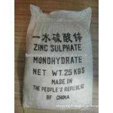 sulfate de zinc monohydraté ZnSO4-H2O