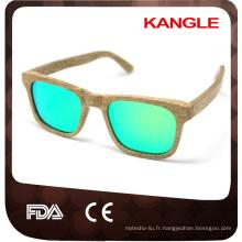 pas cher prix Factory Outlet bambou bois lunettes de soleil