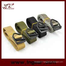 Militaire Airsoft Double couche en Nylon ceinture tactique Combat ceinture