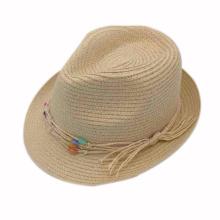 Chapeau Fedora en papier pour fille