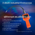 """Recordable Video Inspection 2.4"""" HD Endoscope Snake Scope 1M Cable Industrial Borescope 4 LED Car Engine"""