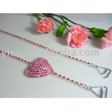 strawberry rhinestone bra straps