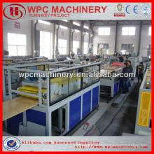 Máquina de fabricação de portas pvc de madeira wpc de madeira