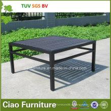 Напольная Таблица сада мебели Патио журнальный столик с пластиковой древесины