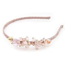 Moda Beaded Crystal Hairband Para Menina BH05