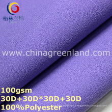 Plain Dyeing Polyester Chiffon Fabric for Woman Dress (GLLML320)