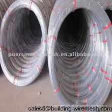 Alambre de acero ovalado del alto carbón (fábrica de Anping)