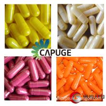 empty hard gelatin capsule shells