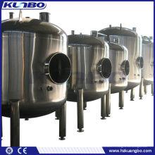 Tanque de almacenamiento de cerveza de levadura para fermentar