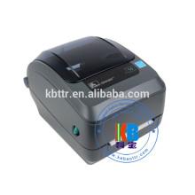 Impressora de código de barras de transferência térmica monocromática preto e branco Zebra